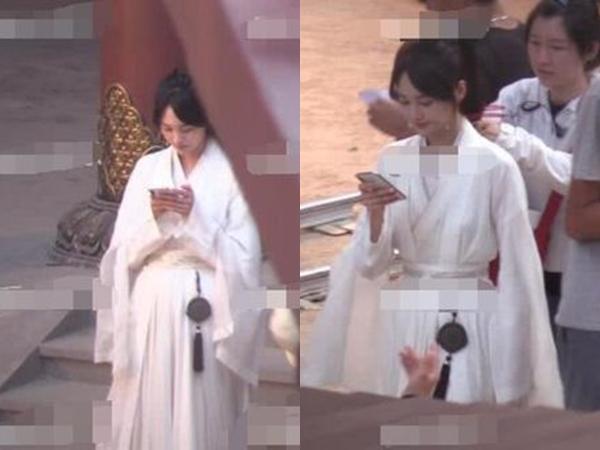 Trịnh Sảng bị chỉ trích khi liên tục bấm điện thoại trên phim trường của tác phẩm mới