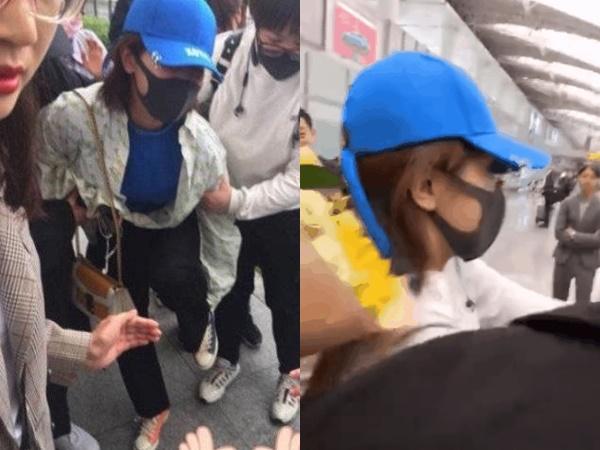 """Từ chối nhận quà từ shipper """"Phượng - Mịch"""", Dương Tử bị fan tấn công trong khung cảnh hỗn loạn?"""
