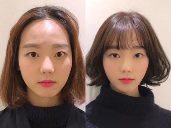 Vài kiểu tóc mái đơn giản giúp các nàng che nhược điểm mặt to