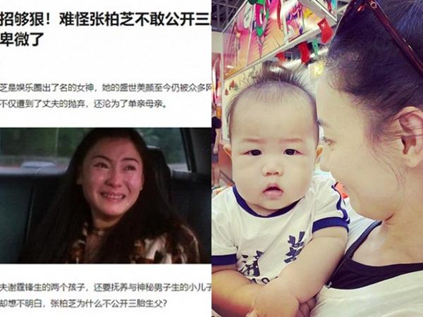 Vì thỏa thuận ngầm với Tạ Đình Phong nên Trương Bá Chi chưa thể công khai danh tính bố ruột con trai thứ 3?