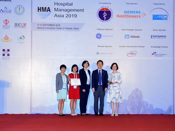 """VINMEC được vinh danh là """"Bệnh viện tiến bộ nhất"""" và  """"An toàn cho người bệnh"""""""