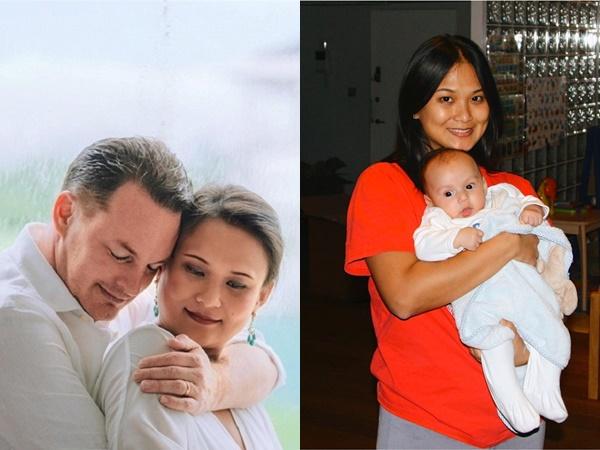 Vợ mới của chồng cũ Hồng Nhung chia sẻ loạt ảnh quá khứ hiếm hoi: Nhan sắc trẻ đẹp bên con trai riêng