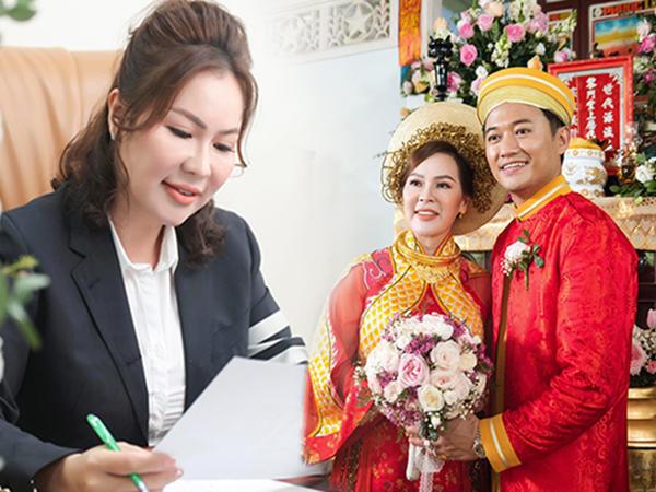 """Vợ doanh nhân Quý Bình: """"Ở nhà tôi rất nữ tính và con nít. Tôi hay mè nheo lắm"""""""