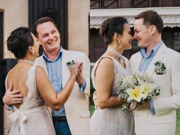 Vợ mới của chồng cũ Hồng Nhung đăng ảnh ngọt ngào kỷ niệm 2 năm ngày cưới