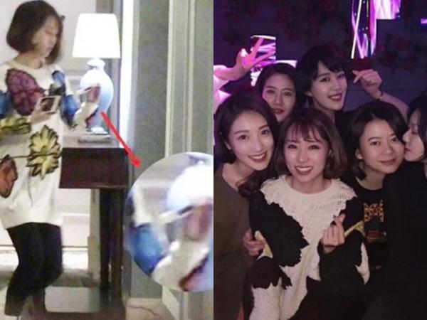 Vụ Trương Đan Phong ngoại tình: 'Tiểu tam' được nam chính bao che, thoải mái tụ tập cùng hội bạn