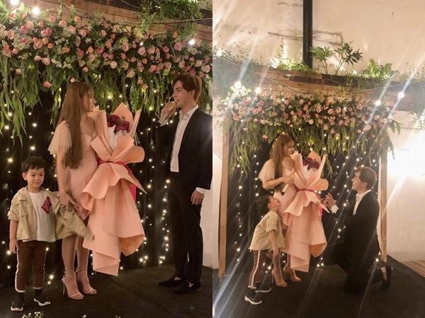 Vừa công khai bạn trai kém tuổi, Thu Thủy đã nhận được lời cầu hôn cực ngọt: 'Anh muốn là người xóa hết vết thương của em'