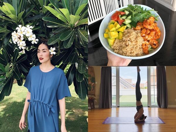Xem Instagram của Tăng Thanh Hà học tập bí quyết để luôn tươi trẻ, thon gọn