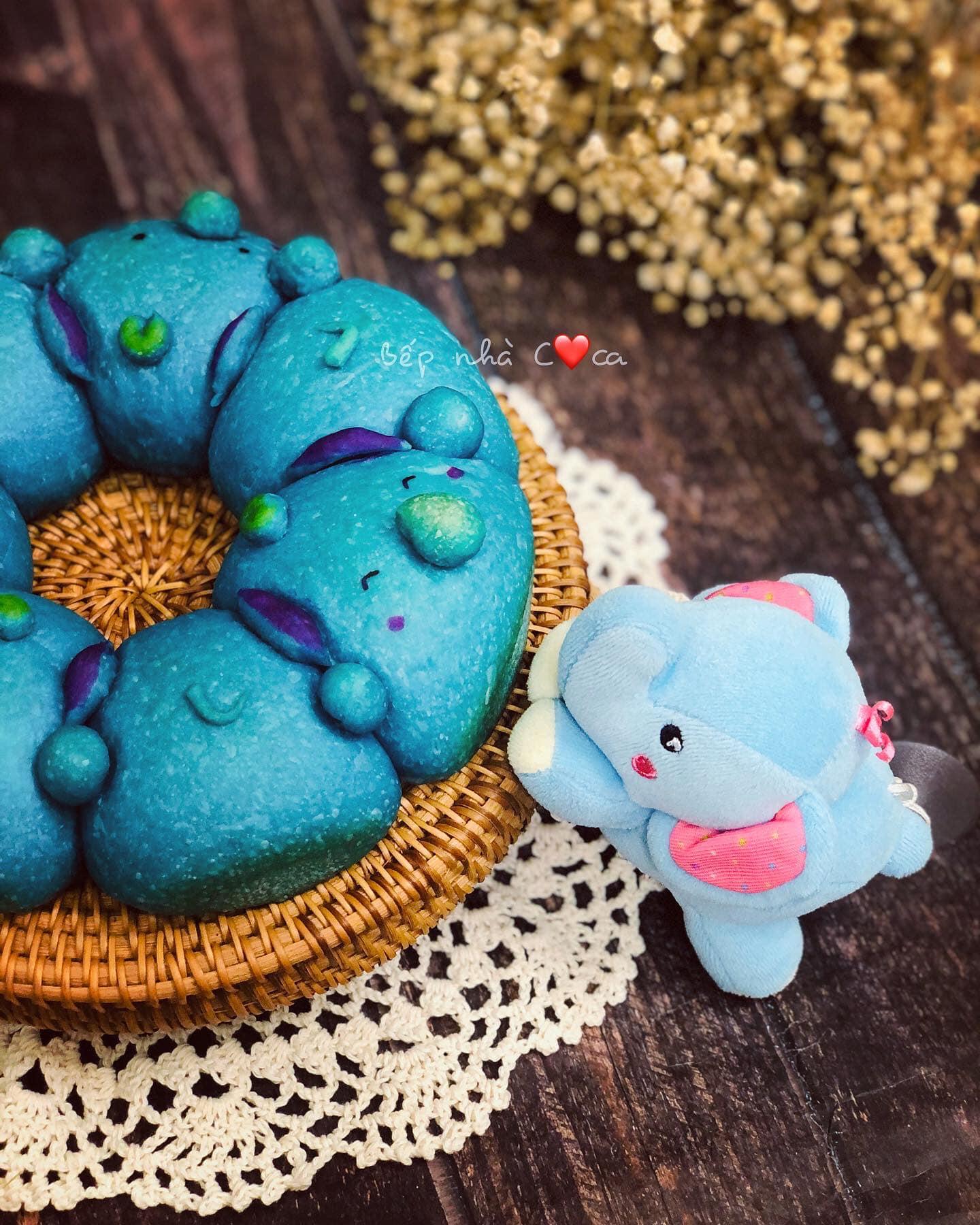 Mẹ đảm mách chị em cách làm bánh mỳ hoạt hình siêu cute khiến các bé mê tít - Ảnh 6