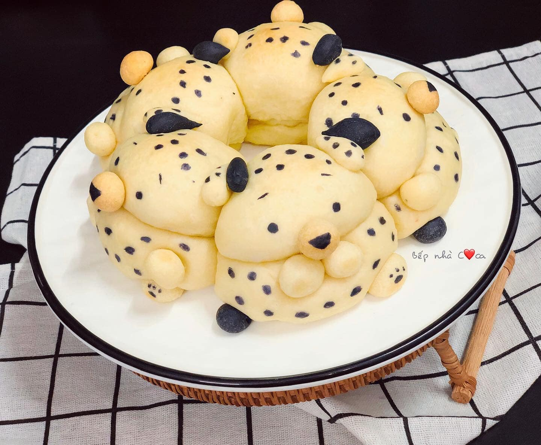Mẹ đảm mách chị em cách làm bánh mỳ hoạt hình siêu cute khiến các bé mê tít - Ảnh 7