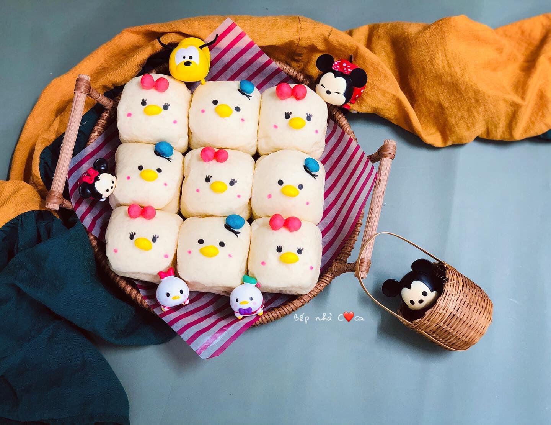 Mẹ đảm mách chị em cách làm bánh mỳ hoạt hình siêu cute khiến các bé mê tít - Ảnh 8