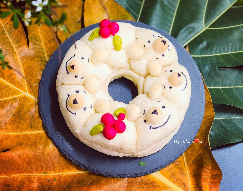 Mẹ đảm mách chị em cách làm bánh mỳ hoạt hình siêu cute khiến các bé mê tít - Ảnh 11