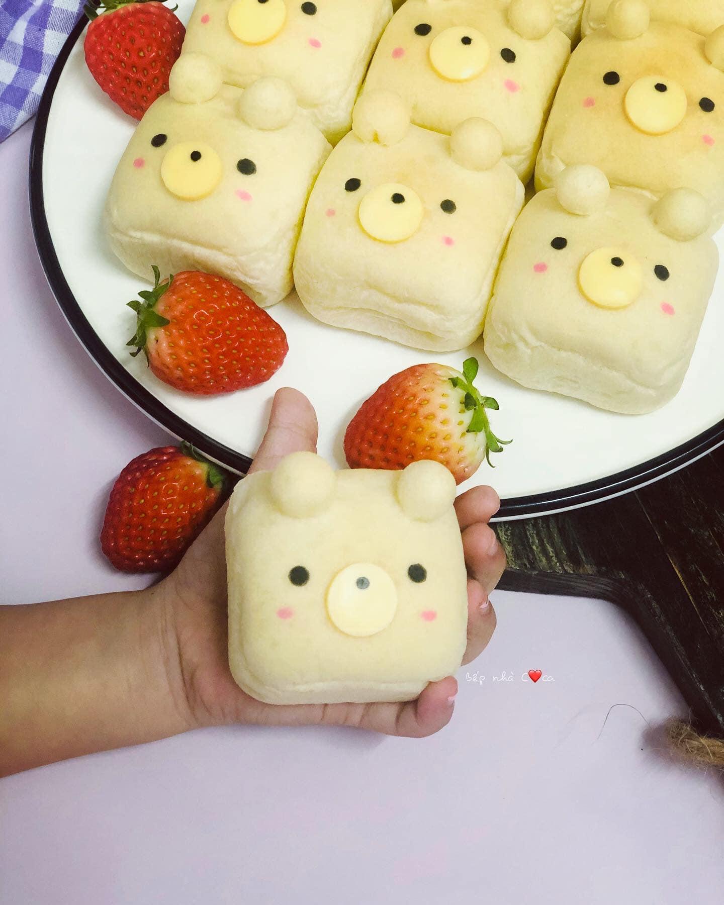 Mẹ đảm mách chị em cách làm bánh mỳ hoạt hình siêu cute khiến các bé mê tít - Ảnh 12