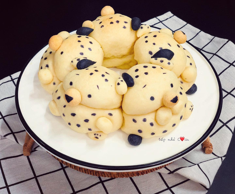 Mẹ đảm mách chị em cách làm bánh mỳ hoạt hình siêu cute khiến các bé mê tít - Ảnh 15