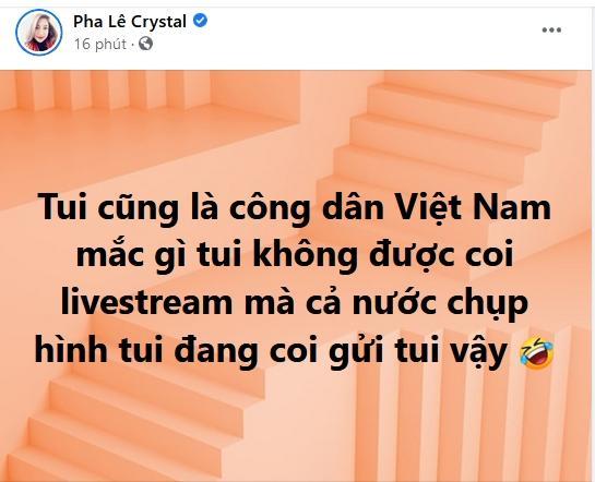 Trong lúc Công Vinh livestream sao kê ầm ĩ mạng xã hội, 'tình tin đồn' Pha Lê bất ngờ thông báo 'lạ' - Ảnh 3