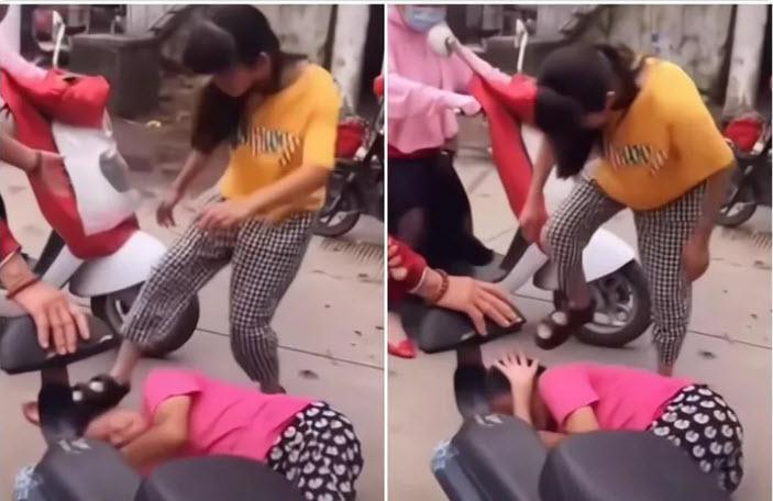 Bị nhà chồng chửi mắng, con gái điên tiết 'trút giận' lên mẹ ruột, cảnh tượng mẹ già bị con giẫm đạp khiến người chứng kiến chua xót - Ảnh 1