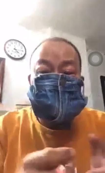 Đang mùa dịch, Ngọc Trinh rủ 'đại sứ cách ly' tự 'chế' khẩu trang từ túi khăn ướt gây tranh cãi - Ảnh 3