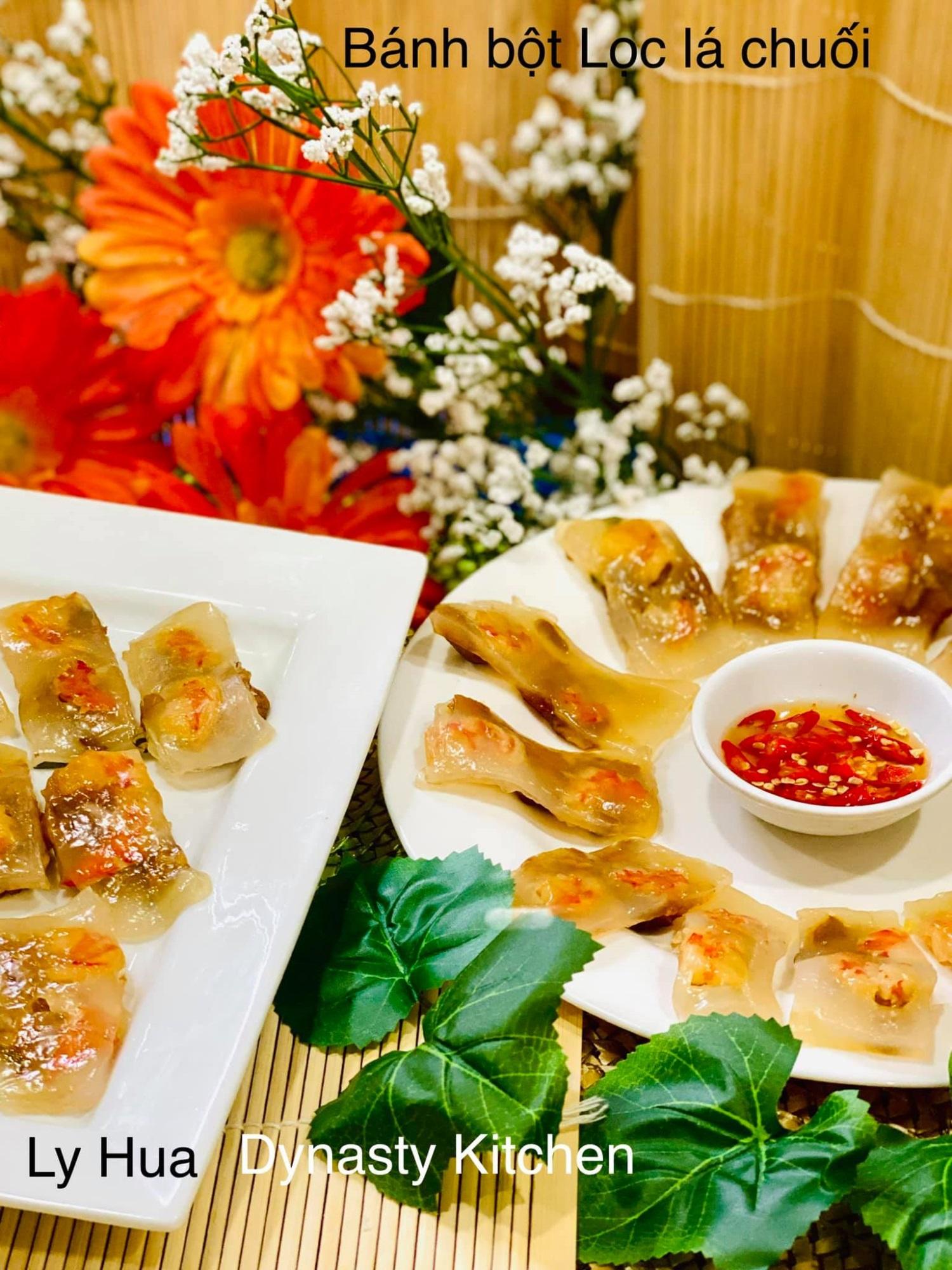 Mẹ đảm mách chị em cách làm bánh bột lọc lá chuối, đơn giản nhanh gọn và cực ngon - Ảnh 3