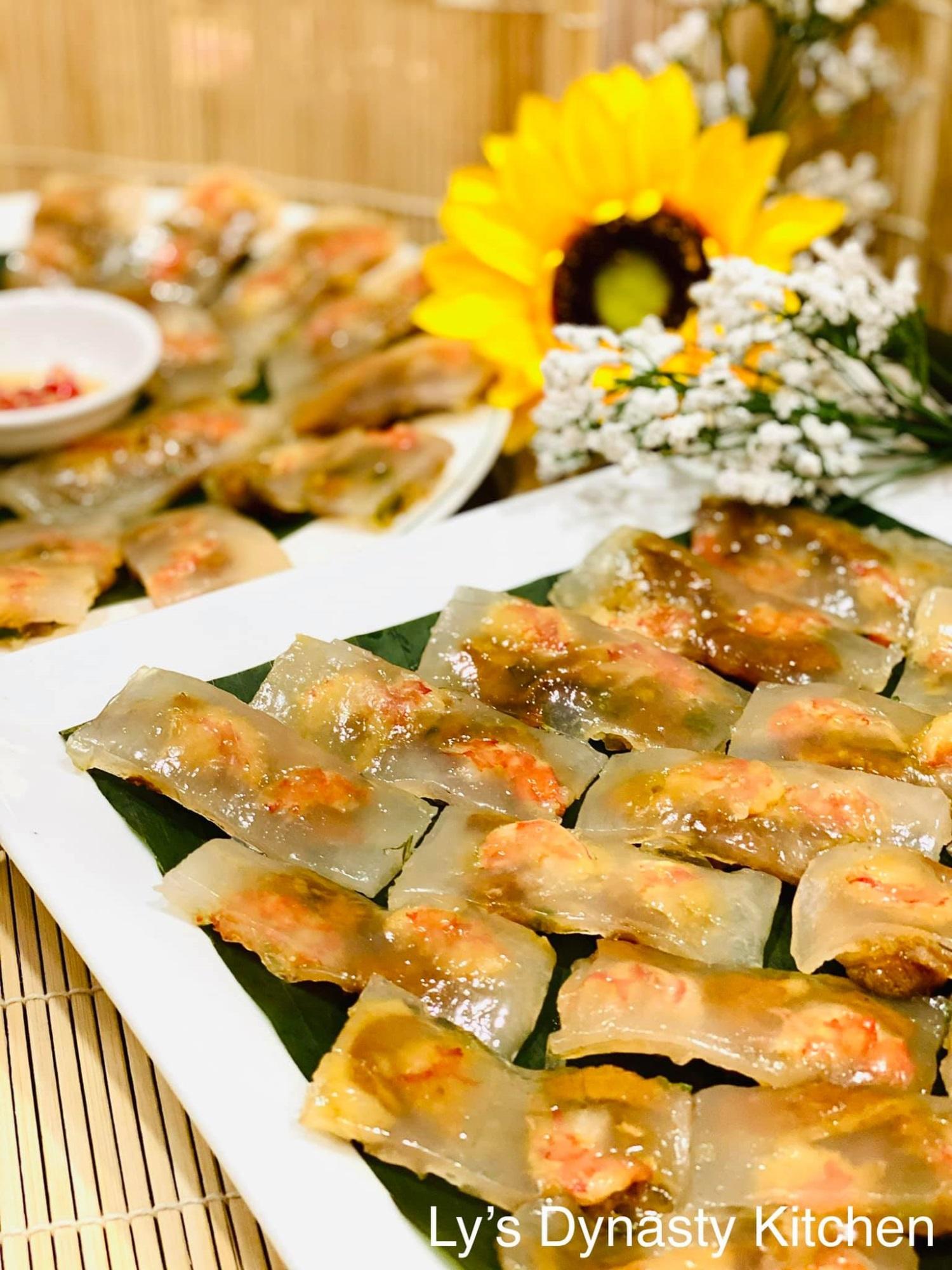 Mẹ đảm mách chị em cách làm bánh bột lọc lá chuối, đơn giản nhanh gọn và cực ngon - Ảnh 6