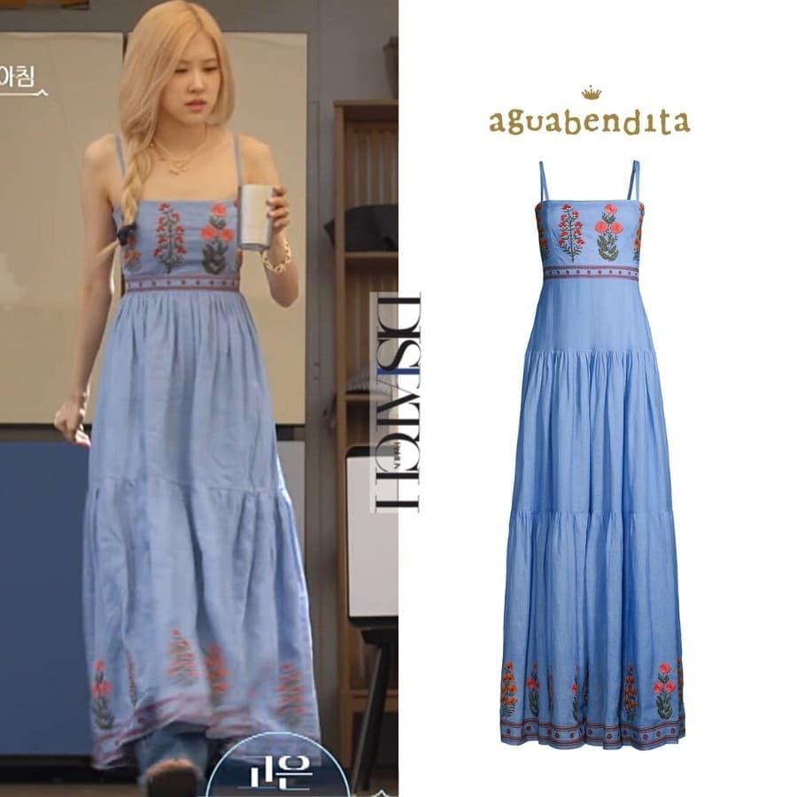 Rosé diện váy maxi dài thượt mà không bị dìm dáng, hóa ra stylist đã chơi chiêu quá khéo 'đánh đố' netizen - Ảnh 3