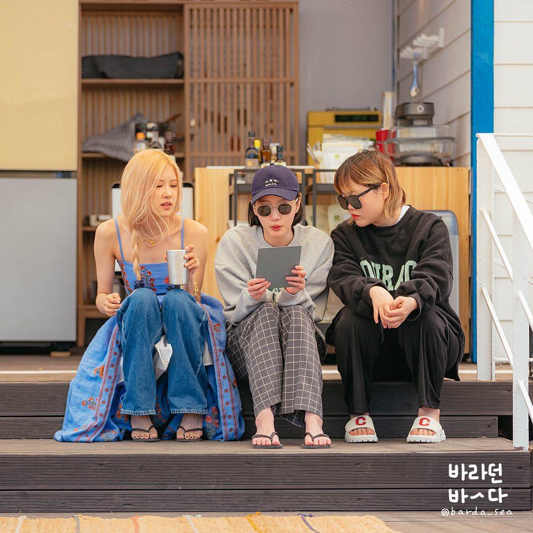 Rosé diện váy maxi dài thượt mà không bị dìm dáng, hóa ra stylist đã chơi chiêu quá khéo 'đánh đố' netizen - Ảnh 2