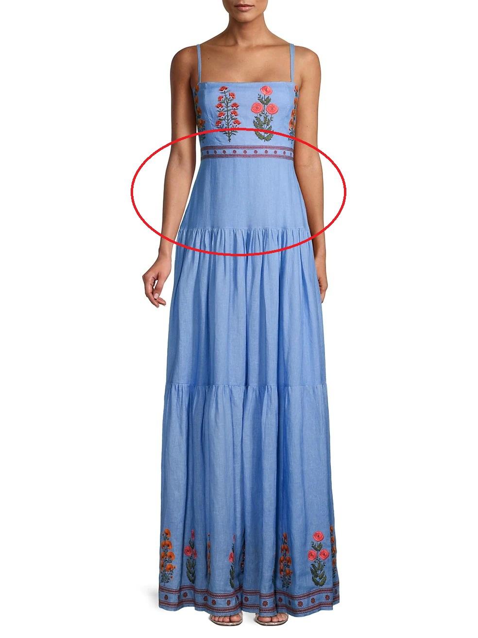 Rosé diện váy maxi dài thượt mà không bị dìm dáng, hóa ra stylist đã chơi chiêu quá khéo 'đánh đố' netizen - Ảnh 4
