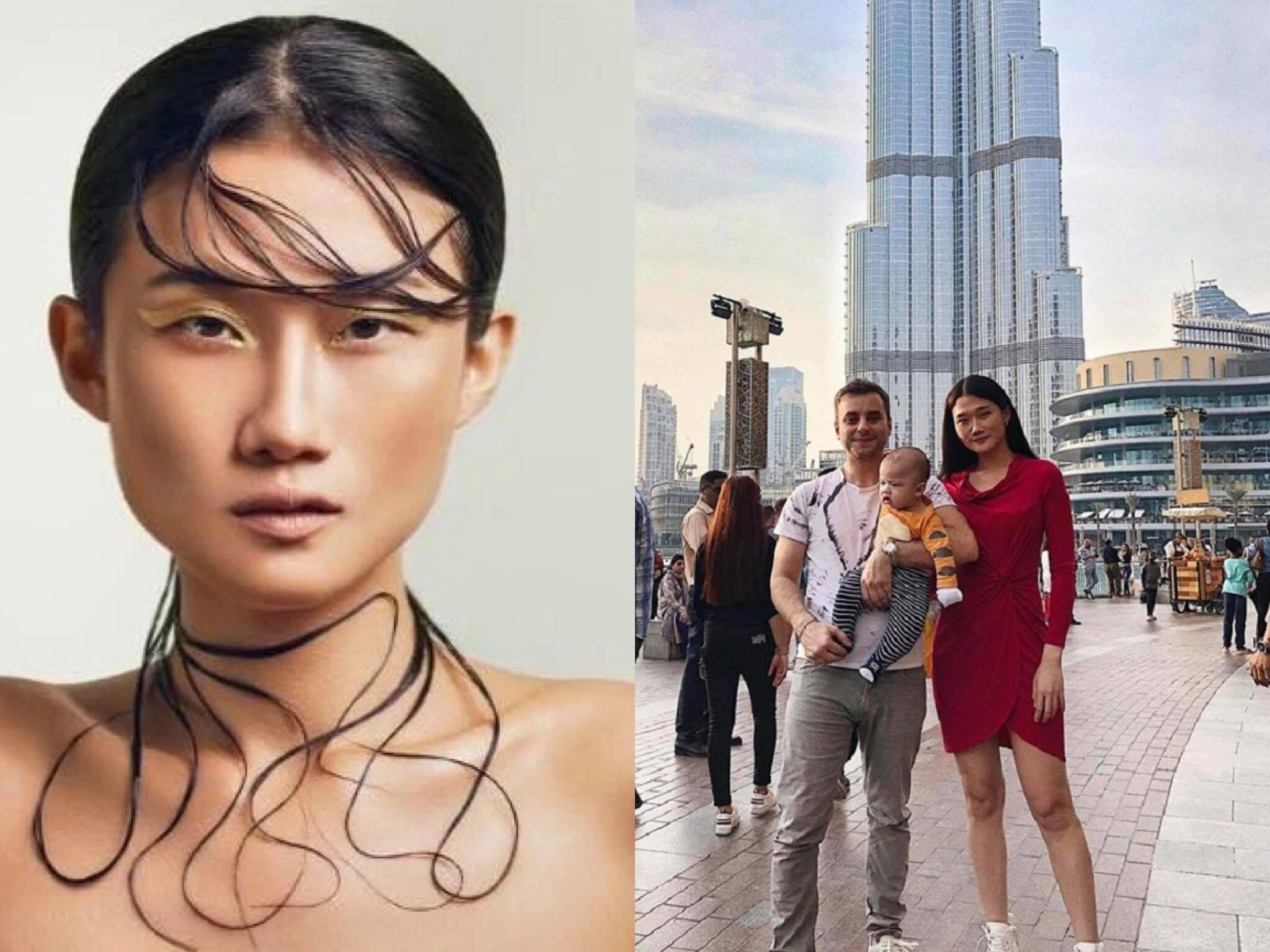 Siêu mẫu Kha Mỹ Vân thông báo giúp việc, em trai, con trai dương tính SARS-CoV-2 khiến fan lo lắng