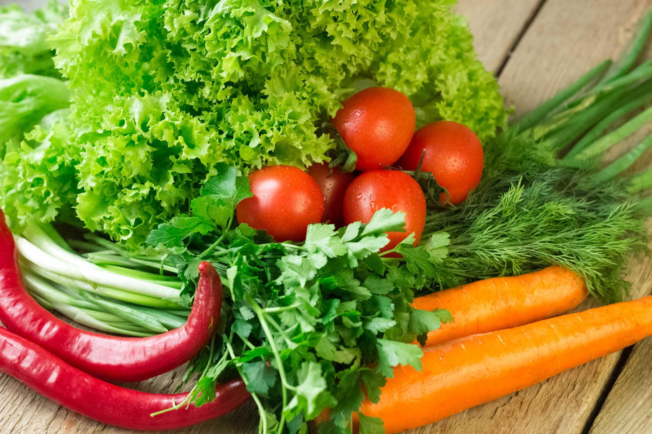 Ăn rau nhiều tránh tăng cân