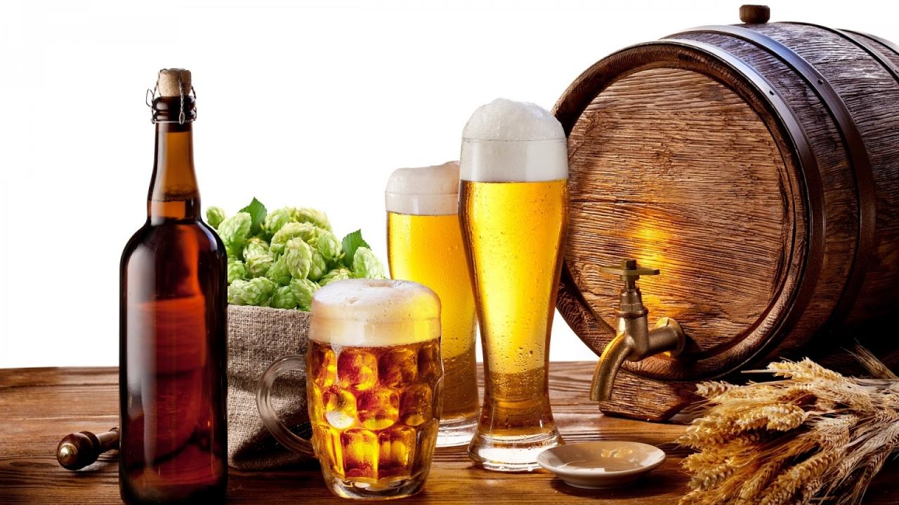 Bia rượu, đồ uống có gas