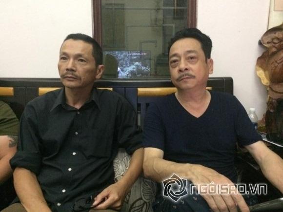 Phan Quân (Hoàng Dũng) và Lương Bổng (Trung Anh) cùng xem phim