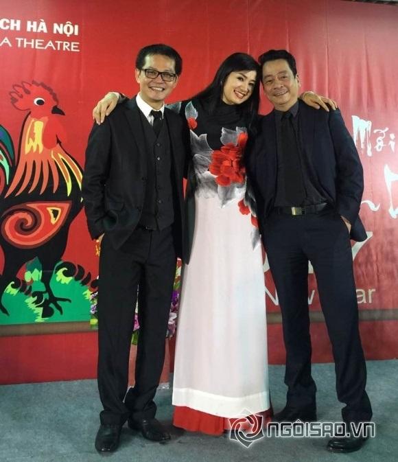 NSND Hoàng Dũng rất thân thiết và có công dìu dắt nhiều lứa diễn viên tài năng của điện ảnh Việt.