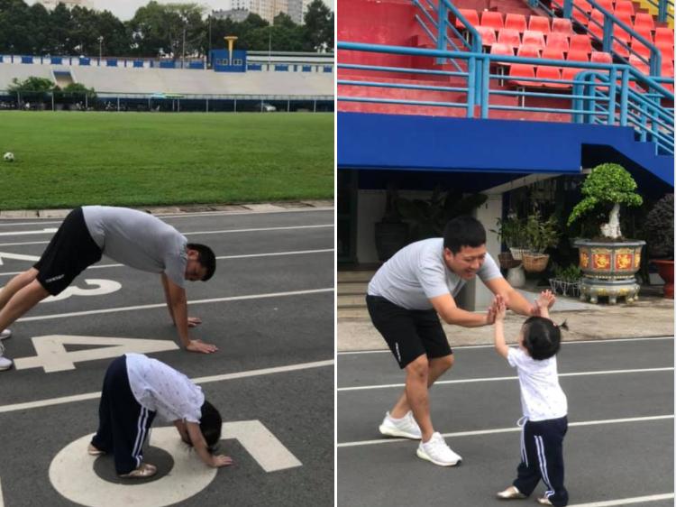 Con gái Nhã Phương hiếm hoi lộ diện, cộng đồng mạng rần rần 'tướng tá y chang ba Giang'