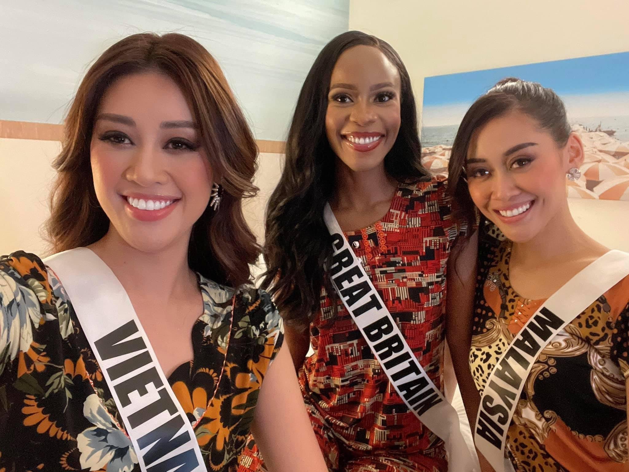 Đi thi Miss Universe, Khánh Vân tranh thủ debut 'nhóm nhạc thun lạnh', CĐM rần rần dự đoán sẽ hot trend toàn cầu
