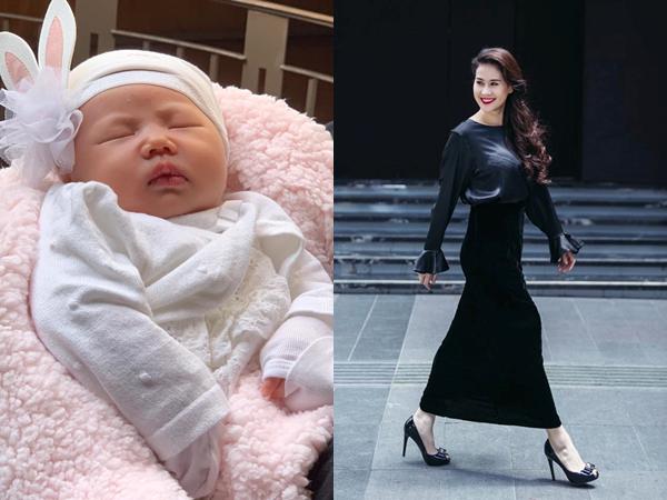 13 năm làm người mẫu chuyên nghiệp, Thân Thúy Hà vẫn chào thua con gái mới sinh vì điều này