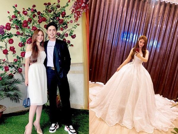 2 năm sau ly hôn, Thu Thủy lộ ảnh thử váy cưới, rộ tin sắp lấy chồng lần hai?