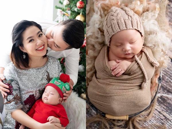 Gần 3 tháng sau sinh, Lê Khánh khiến fan 'rụng tim' khi tung bộ ảnh gia đình ngọt ngào
