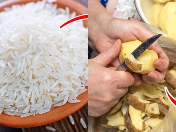 9 thực phẩm an toàn từ chuối, khoai tây thay thế hóa chất tẩy rửa
