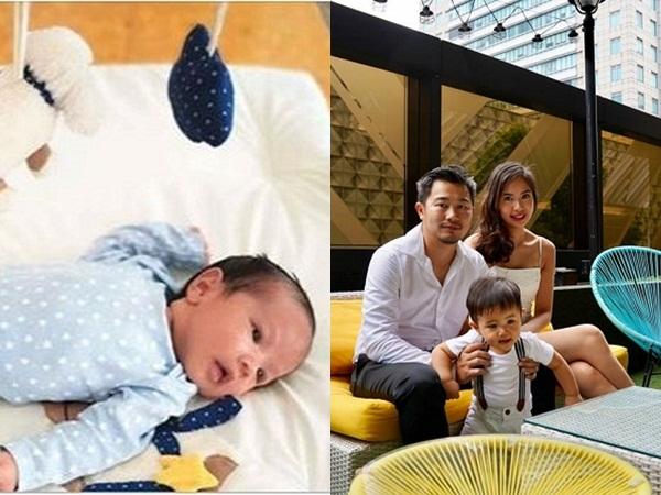 Á hậu Kiều Khanh đã sinh con thứ hai được đầy tháng