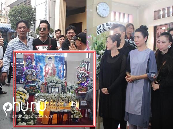 Bảo Chung cùng loạt nghệ sĩ Việt khóc nghẹn khi đến tiễn đưa Anh Vũ lần cuối