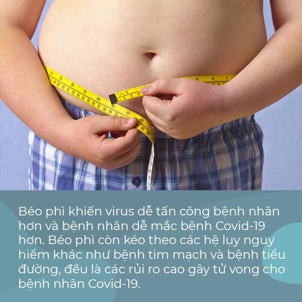 Chuyên gia cảnh báo: Người thừa cân, béo phì có nguy cơ tử vong cao hơn khi mắc Covid-19 - Ảnh 1