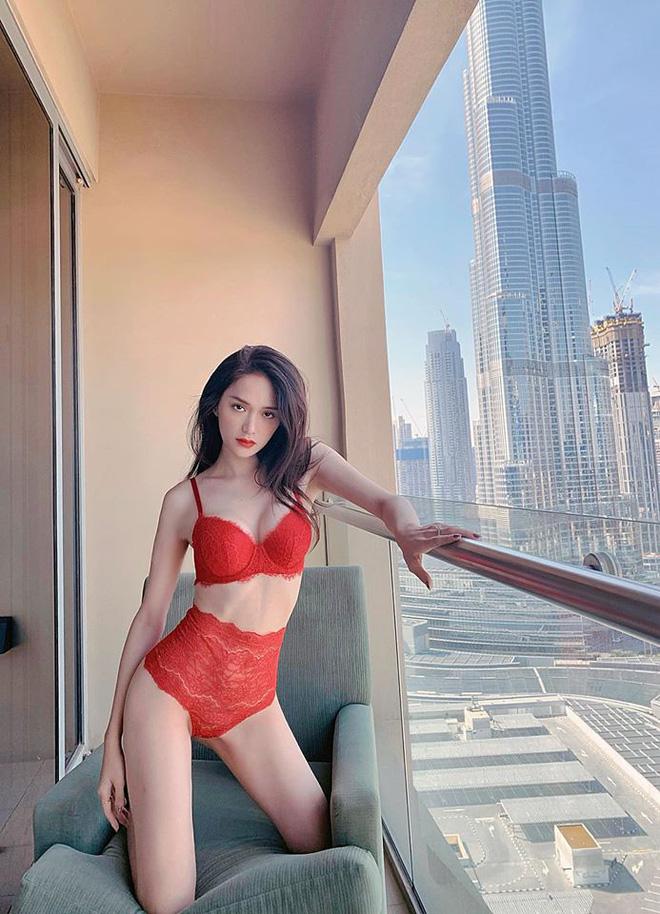 Giữa scandal của người yêu mới, Hoa hậu Hương Giang 'tung đòn cà khịa cực nóng bỏng' - Ảnh 5