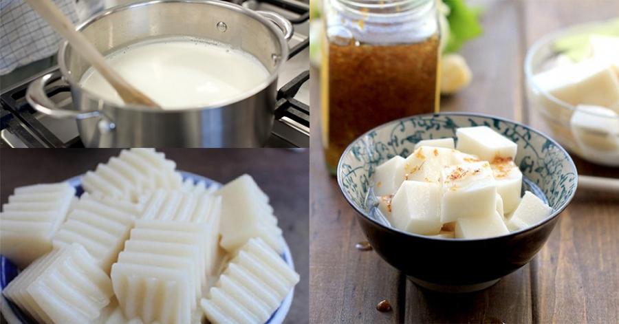 Cách làm thạch sữa mát lạnh ngày hè, càng ăn càng mê - Ảnh 1
