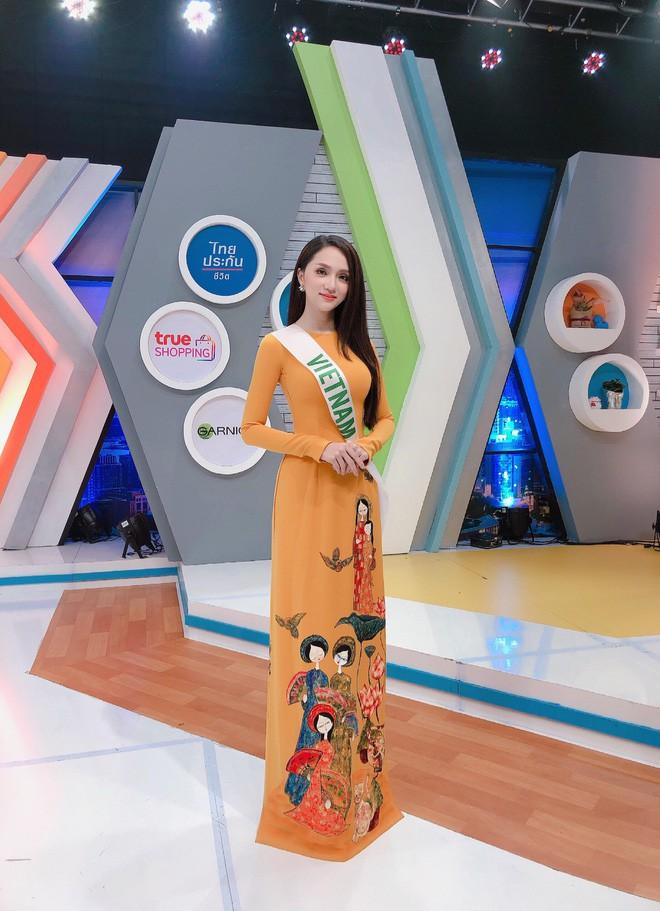 Để có thân hình đẹp, nữ tính và trở thành Hoa hậu, Hương Giang Idol đã phải cố gắng nhiều gấp 5 gấp 10 người khác như thế này - Ảnh 2