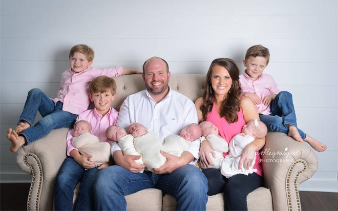 Ngắm những thiên thần đáng yêu trong ca sinh 6 hiếm gặp với 3 bé trai và 3 bé gái - Ảnh 14