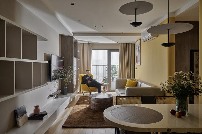 Kiến trúc sư kể chuyện nhà mình: Đập đi xây lại được căn hộ đẹp mê ly, nhìn hình thực tế mà cứ ngỡ ảnh 3D - Ảnh 2