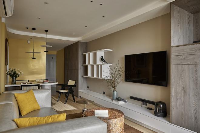 Kiến trúc sư kể chuyện nhà mình: Đập đi xây lại được căn hộ đẹp mê ly, nhìn hình thực tế mà cứ ngỡ ảnh 3D - Ảnh 3