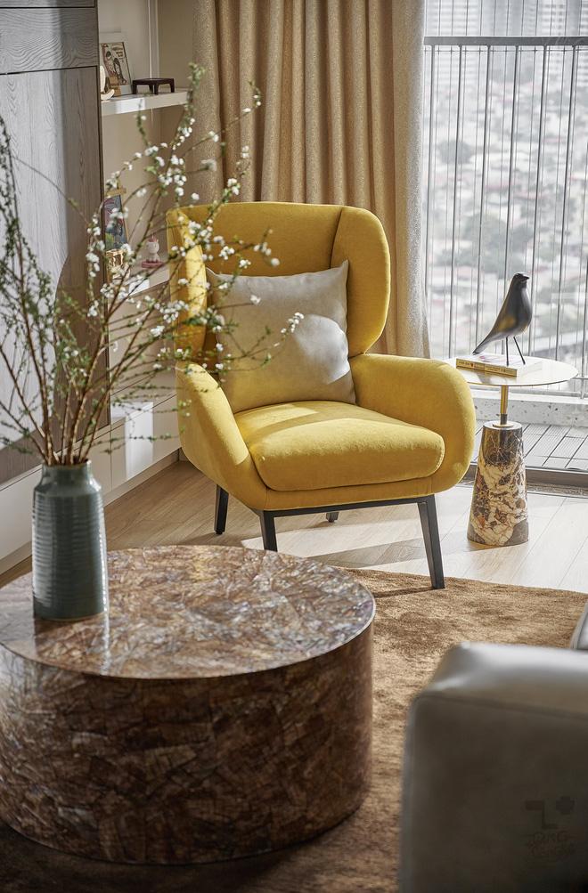 Kiến trúc sư kể chuyện nhà mình: Đập đi xây lại được căn hộ đẹp mê ly, nhìn hình thực tế mà cứ ngỡ ảnh 3D - Ảnh 5