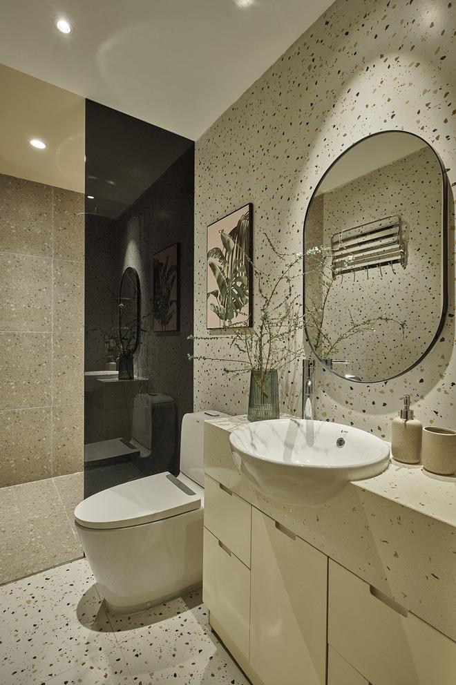 Kiến trúc sư kể chuyện nhà mình: Đập đi xây lại được căn hộ đẹp mê ly, nhìn hình thực tế mà cứ ngỡ ảnh 3D - Ảnh 9
