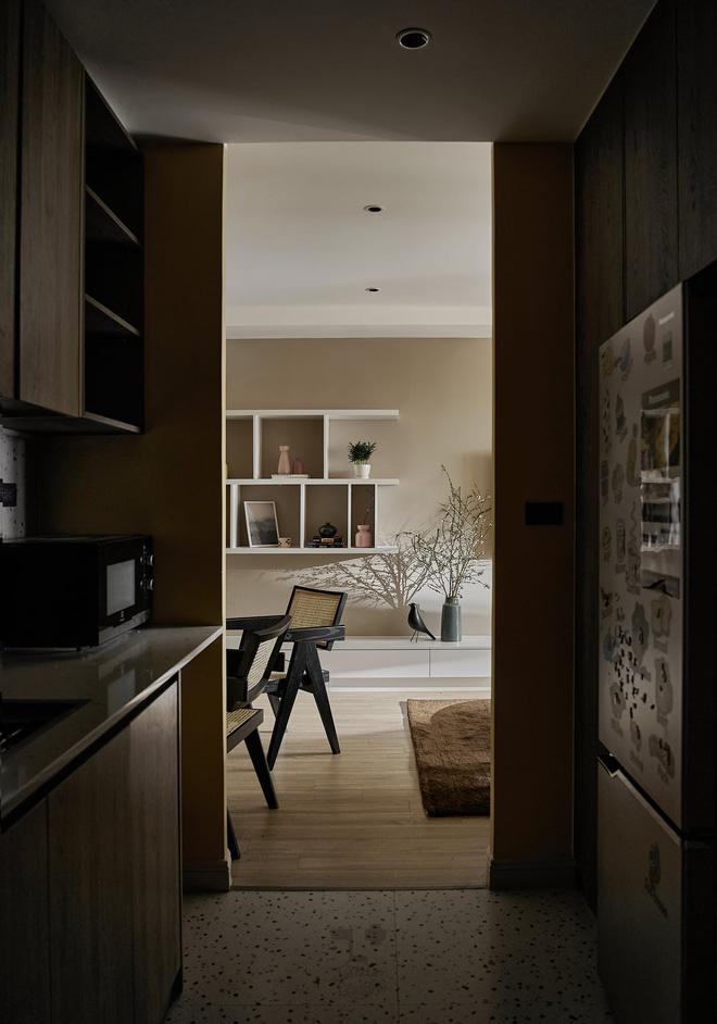 Kiến trúc sư kể chuyện nhà mình: Đập đi xây lại được căn hộ đẹp mê ly, nhìn hình thực tế mà cứ ngỡ ảnh 3D - Ảnh 12