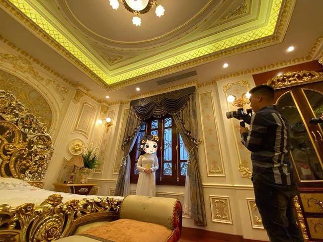 Choáng với đám cưới trong lâu đài dát vàng tại Tuyên Quang, đón dâu bằng xe Rolls Royce chiếm ngay spotlight trên mạng xã hội - Ảnh 4