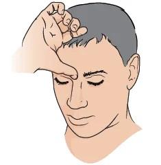 Hướng dẫn cách đánh bay mọi cơn đau đầu, mệt mỏi bằng phương pháp bấm huyệt ấn đường - Ảnh 2